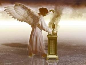 angel incensario