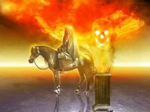 caballo amarillo