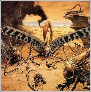 langostas y serpientes